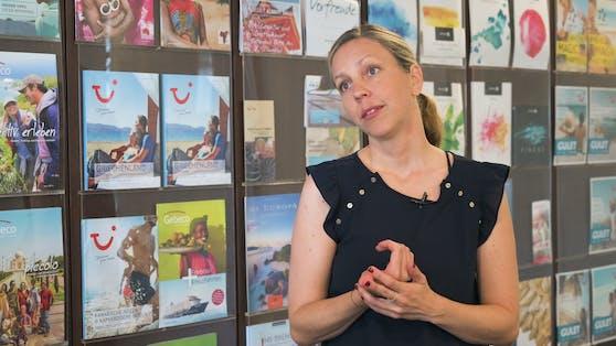 """Tui-Sprecherin Kathrin Limpel verriet im """"Heute""""-Interview, wie und wo man heuer sicher  urlauben kann."""