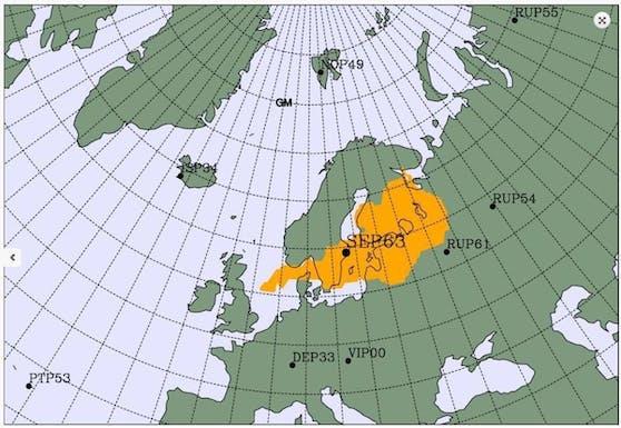 Auf Twitter gab Lassina Zerbo, Generalsekretär der Organisation des Vertrages über das umfassende Verbot von Nuklearversuchen (CTBTO), bekannt, dass in den letzten Tagen in Nordeuropa erhöhte Radioaktivität festgestellt wurde. Dazu veröffentlichte er eine Landkarte, auf der das mutmaßliche Herkunftsgebiet markiert ist.