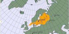 Erhöhte Radioaktivität in Nordeuropa