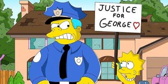 """Sagten die """"Simpsons""""-Macher auch den mutmaßlichen Mord an George Floyd voraus?"""