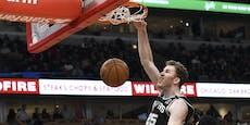 Double-Double: Pöltl glänzt bei Sieg der Spurs