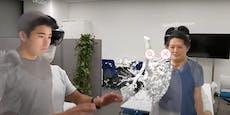 Hologramm-Technologie statt Arztbesuch