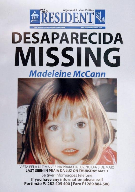 Wurde die seit 13 Jahren vermisste Maddie McCann von einem 43-jährigen deutschen Staatangehörigen umgebracht?