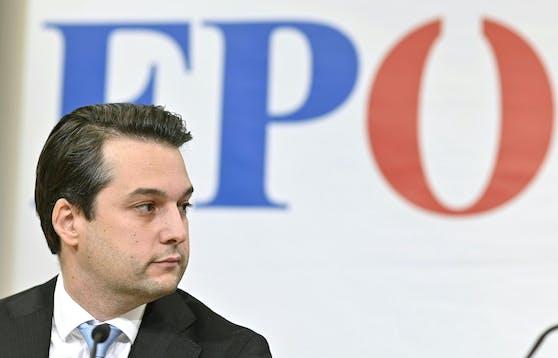 Dominik Nepp bleibt Wiens FPÖ-Landeschef