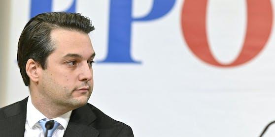FPÖ-Parteichef Dominik Nepp