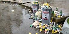 "Resselpark nach ""Black Lives Matter""-Demo voller Müll"
