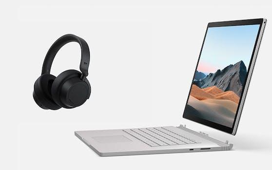Surface Book 3 und Surface Headphones 2 ab sofort in Österreich verfügbar.