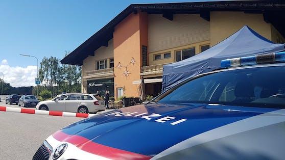Pressekonferenz nach Bluttat in Kärnten