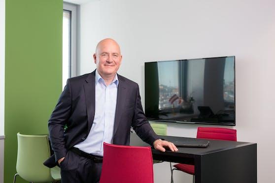 Helmut Weinwurm, Alleinvorstand der Robert Bosch AG und Repräsentant der Bosch-Gruppe in Österreich.