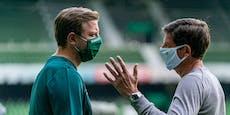 1:0! Glasner siegt und stößt Bremen tiefer in die Krise