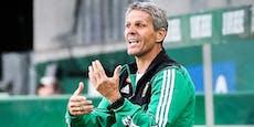 Vertrag läuft aus! Verlängert Kühbauer als Rapid-Coach?