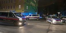 Burschen hantierten in Wiener Innenhof mit Waffe