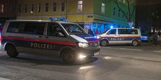 Die Polizei im Einsatz. (Symbolbild.)