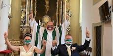 """Braut rettet Mann nach """"Rapid-Hochzeit"""" das Leben"""