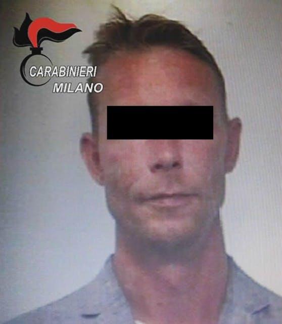 Dieses Foto zeigt den Verdächtigen Christian B. nach einer Verhaftung im Jahr 2018.