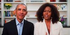 So war die Abschlussfeier mit den Obamas
