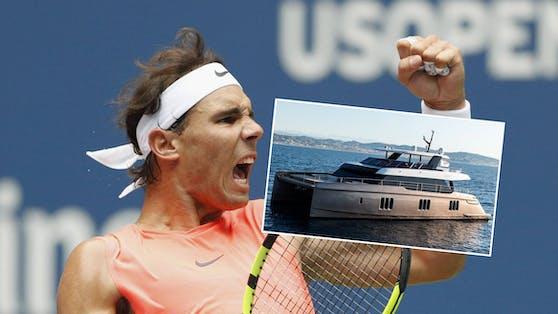 Rafael Nadal und seine Luxus-Yacht