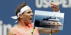 5,5 Millionen Euro! Das ist Nadals neue Luxus-Yacht