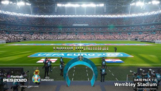 """Das """"UEFA EURO 2020""""-Update für eFootball PES 2020 ist ab sofort erhältlich."""