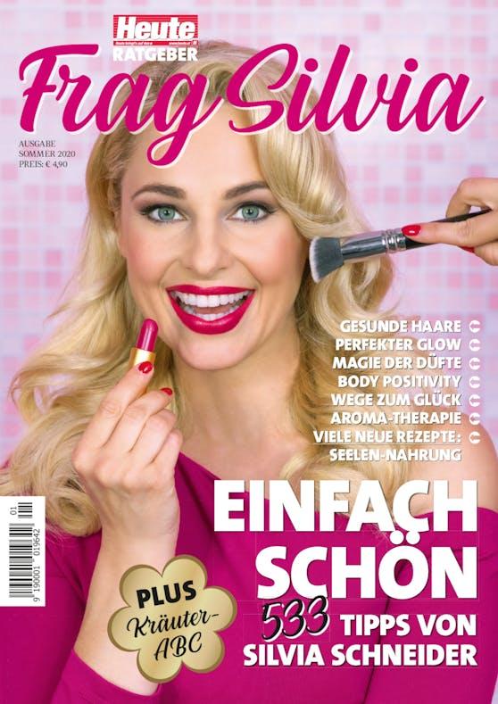 """Die """"Frag Silvia"""" - Sommerausgabe 2020 ist ab sofort österreichweit in den Trafiken und im Handel erhätlich."""