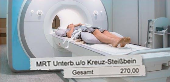 270 Euro für MRT statt auf Kassa