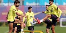 Messi rechtzeitig für Liga-Restart am Samstag fit