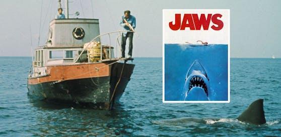 Der weiße Hai avancierte 1975 zum absoluten Film-Klassiker.