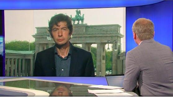 Christian Drosten im ORF-Interview mit Armin Wolf.