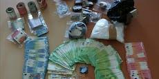 Ein Kilo Koks und 100.000 Euro sichergestellt