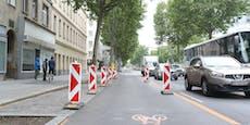 """Unternehmer sauer: """"Für Radweg 40 Parkplätze gekappt"""""""