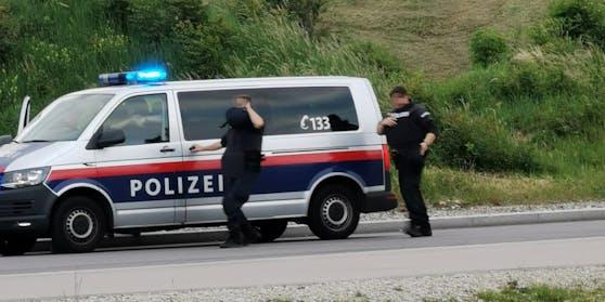 Polizei-Einsatz beim Verteilerkreis in Wien-Favoriten