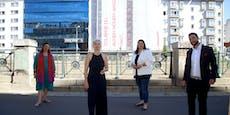 Mariahilfer Gemeindebau wird zu Feminismus-Kunstwerk