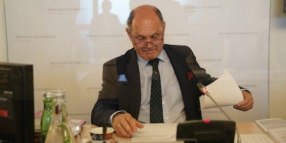 Wolfgang Sobotka ist Vorsitzender der Untersuchung.