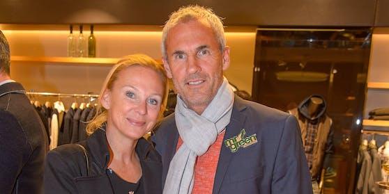 Michael Konsel; mit seiner Frau Tina
