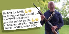 OÖ-Politiker droht im Internet mit Gewehr