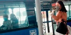 Nach Pornodreh in Bus: Frau von Polizei gesucht