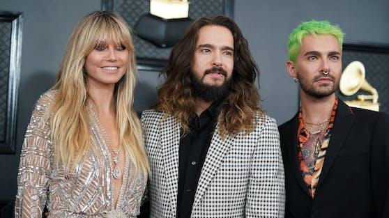 Heidi Klum zeigt sich gerne an der Seite ihres Mannes Tom Kaulitz und ihres Schwagers Bill Kaulitz. Fans ist das aber ein Dorn im Auge.