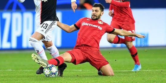 Aleksandar Dragovic in Aktion