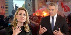 Morddrohungen gegen zwei Minister nach Demo-Krawallen