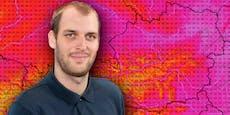 Wetter-Experte zeigt, wo Hitze heute am schlimmsten ist