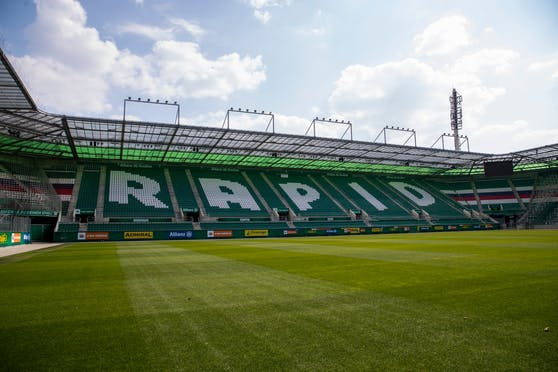 Das Allianz Stadion von Rapid