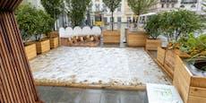 Ein Kunstrasen für die Linzer Grün-Oase