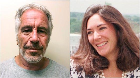 Die in Frankreich geborene Geschäftsfrau war nicht nur die private Partnerin von Jeffrey Epstein (links), sondern soll ihm auch bei seinen perversen Machenschaften zur Seite gestanden haben.