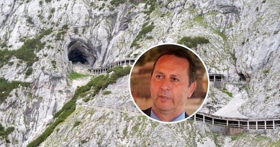 Der Geschäftsführer Friedrich Ödl ist derzeit in Griechenland.