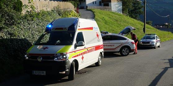 Das Mädchen wurdeerstversorgt und anschließend von der Rettung in die Klinik nach Innsbruck eingeliefert.