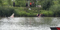 Segelflugzeug stürzt nach Start in die Donau