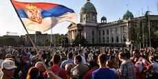 Heute demonstrieren Serben mitten in Wien