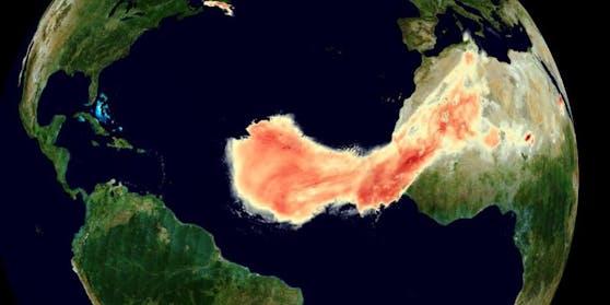 """Staubwolke """"Godzilla"""" ist schon über dem Süden der USA angekommen"""