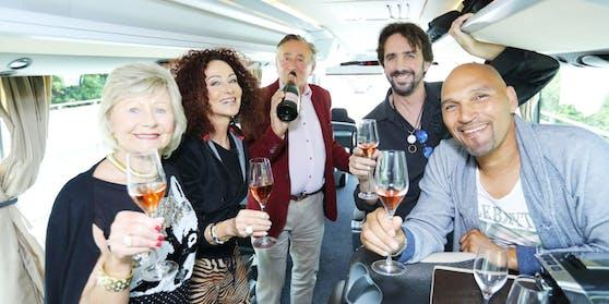 Nächster halt vom Party-Bus: Lignano!