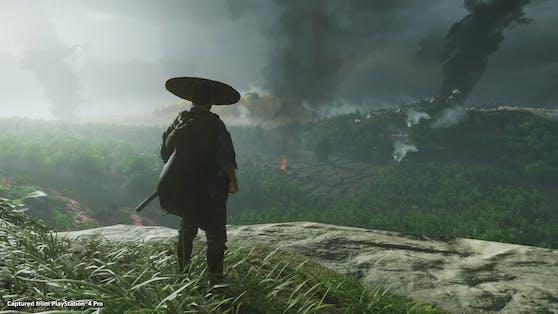 """""""Ghost of Tsushima"""" wird ein echter Verkaufshit auf der PlayStation 4."""